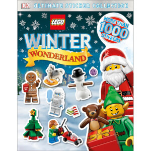 DK Books LEGO Winter Wonderland Ultimate Sticker Collection Paperback