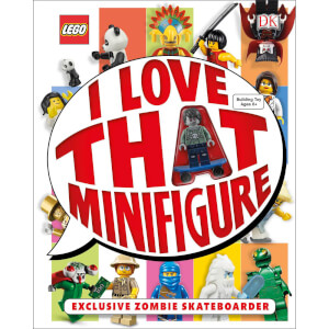 DK Books LEGO I Love That Minifigure Hardback
