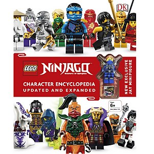 DK Books LEGO Ninjago Character Encyclopaedia Updated and Expanded Hardback