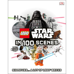 DK Books LEGO Star Wars in 100 Scenes Hardback
