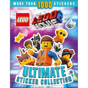 DK Books THE LEGO MOVIE 2 Ultimate Sticker Collection Paperback