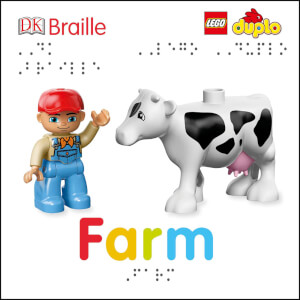DK Books DK Braille LEGO DUPLO Farm Board Book