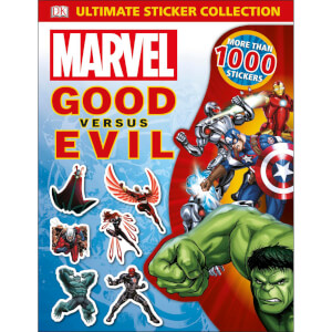 DK Books Marvel Good vs Evil Ultimate Sticker Collection Paperback