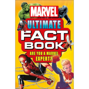 DK Books Marvel Ultimate Fact Book Paperback