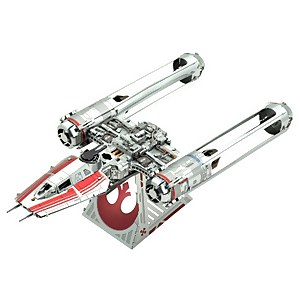 Star Wars Episode 9 Metal Earth 3D Construction Kit - Zorri's Y-Wing Fighter