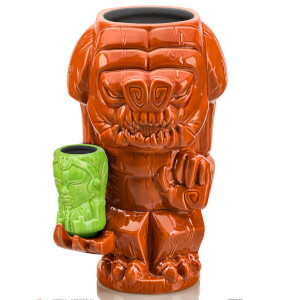 Beeline Creative Star Wars Rancor 45 oz. Geeki Tikis Mug with Oola Muglet