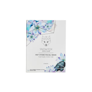Snow Fox Skin Care Hot Stone Facial Mask (Pack of 5)