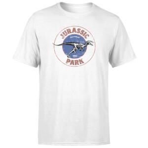T-shirt Jurassic Park Jurassic Target - Blanc - Homme