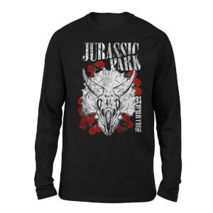 Jurassic Park Islar Nublar 93 Unisex Long Sleeved T-Shirt - Black