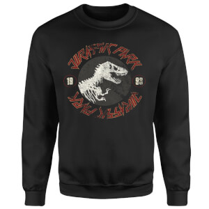 Sweat-shirt Jurassic Park Classic Twist - Noir