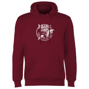 Jurassic Park Flying Threat Hoodie - Burgundy