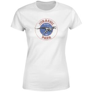 T-shirt Jurassic Park Jurassic Target - Blanc - Femme