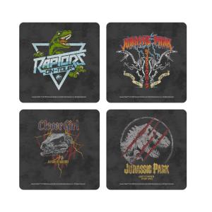 Jurassic Park Dino Coaster Set