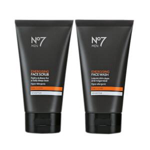 No7 Men Cleansing Duo