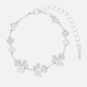 Ted Baker Women's Hanaya Heart Blossom Bracelet - Rhodium