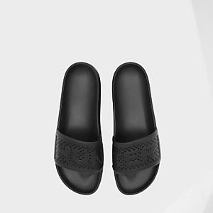 Hunter Men's Original Lightweight Moulded Sliders - Black