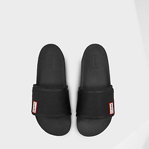 Hunter Women's Original Adjustable Slides - Black