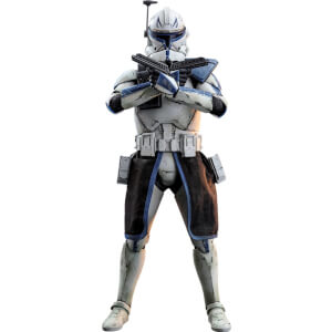 Figurine Articulée Captain Rex à l'échelle 1/6 Star Wars The Clone Wars 30cm - Hot Toys