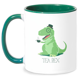 Tea Rex Mug - White/Green