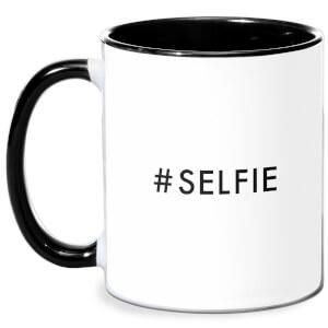 Selfie Mug - White/Black