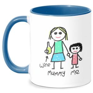 Mummy & Me Mug - White/Blue