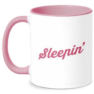 Sleepin Mug - White/Pink