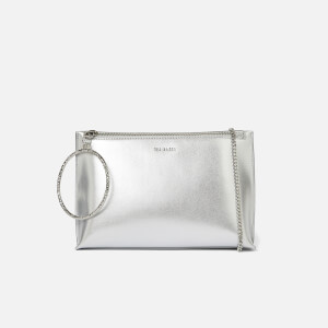 Ted Baker Women's Ingaah Textured Ring Bracelet Clutch - Silver
