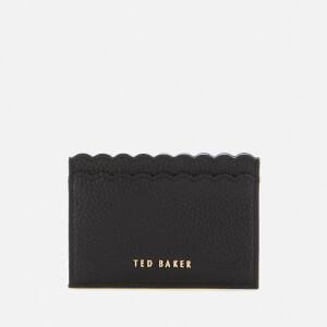 Ted Baker Women's Vivaah Scalloped Credit Card Holder - Black