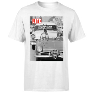 LIFE Magazine Dog In A Car Men's T-Shirt - White
