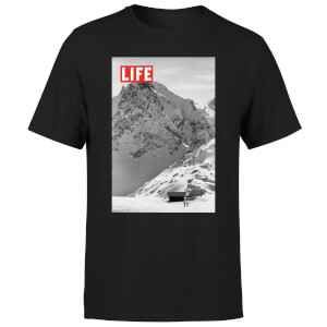 LIFE Magazine Mountains Men's T-Shirt - Black