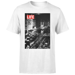 LIFE Magazine City Lights Men's T-Shirt - White