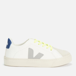 Veja Kids' Esplar Trainers - Extra White/Oxford Grey/Fluo