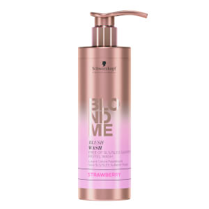 Schwarzkopf Blondme Blush Wash - Strawberry 250ml