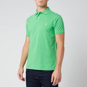Polo Ralph Lauren Men's Slim Fit Mesh Polo Shirt - Neon Green