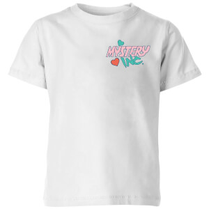 Mystery Inc Pocket Kids' T-Shirt - White