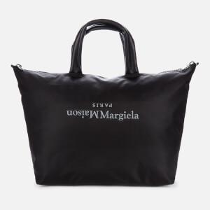 Maison Margiela Men's Nylon Travel Tote Bag - Black