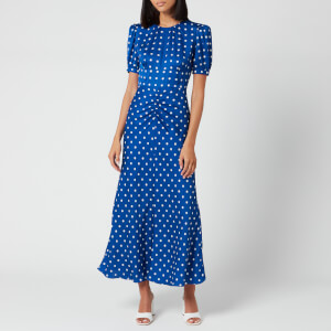 Self-Portrait Women's Polka Dot Midi Dress - Multi
