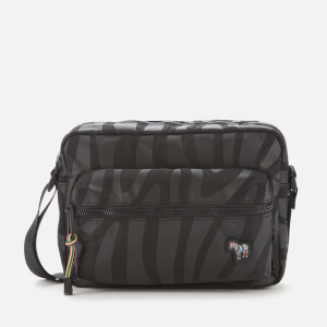 PS Paul Smith Men's Zebra Cross Body Bag - Black