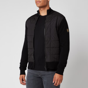 Belstaff Men's New Kelby Zip Cardigan - Black