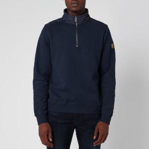 Belstaff Men's Jaxon Quarter Zip Sweatshirt - Navy