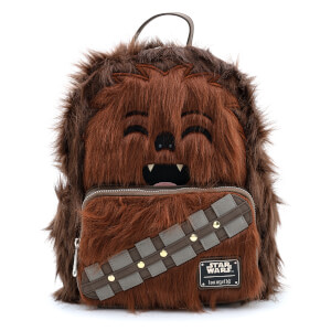Loungefly Star Wars Faux Fur Chewbacca Mini Backpack