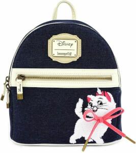 Loungefly Disney Marie Denim Mini Backpack