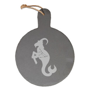 Capricorn Engraved Slate Cheese Board