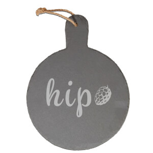 Hip Engraved Slate Cheese Board
