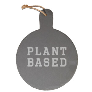Plant Based Engraved Slate Cheese Board