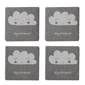 Daydreamer Engraved Slate Coaster Set