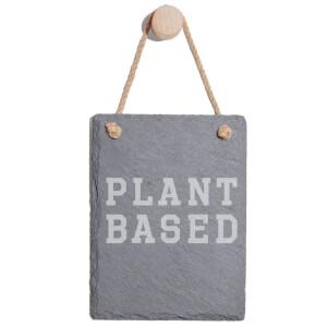 Plant Based Engraved Slate Memo Board - Portrait