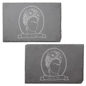 Frida Engraved Slate Placemat - Set of 2