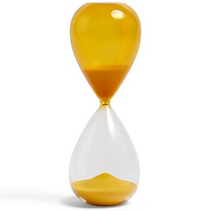 HAY Time Hourglass - 30 Minutes - Yellow