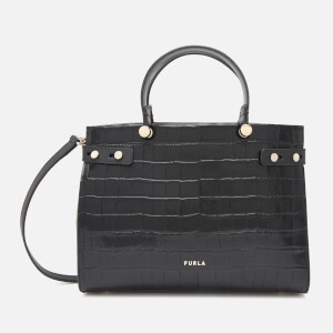 Furla Women's Lady Medium Tote Bag - Black
